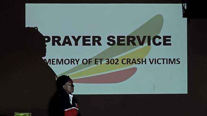 Memorial services held for victims of Ethiopian Airlines Flight 302