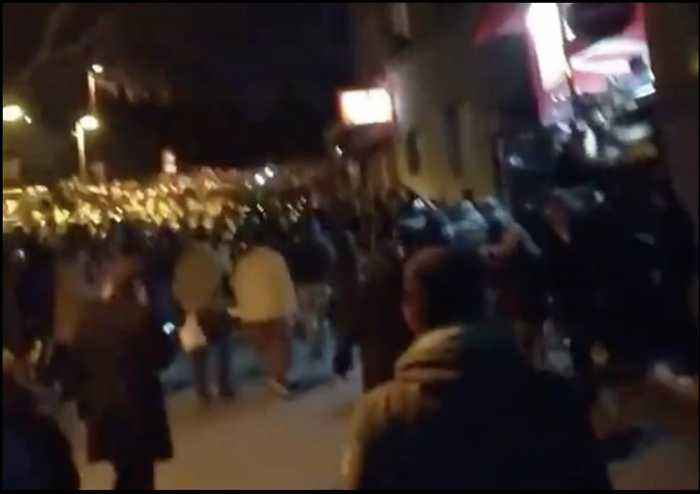 Crowds Jeer as Riot Police Respond To Protest at Serbia's Public Broadcaster