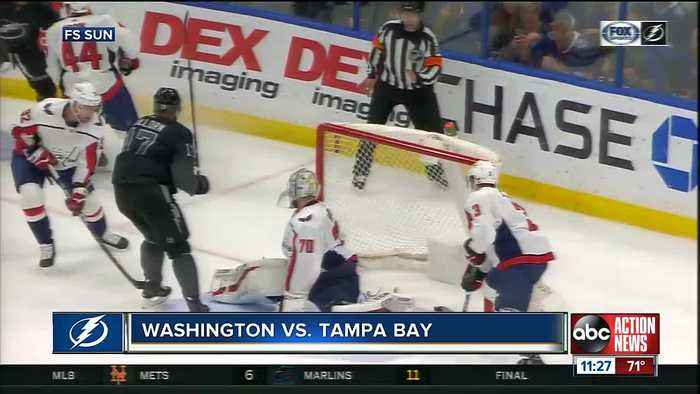 Alex Killorn's hat trick helps Tampa bay Lightning beat Washington Capitals 6-3