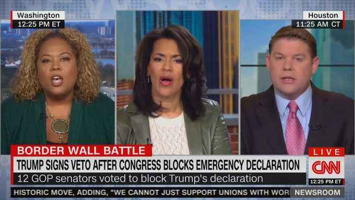 CNN Debate On Trump's Veto Gets Heated: 'Don't You Dare Patronize Me!