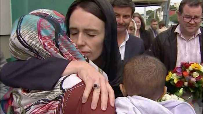 NZ Prime Minister Visits Grieving Families After Christchurch Carnage
