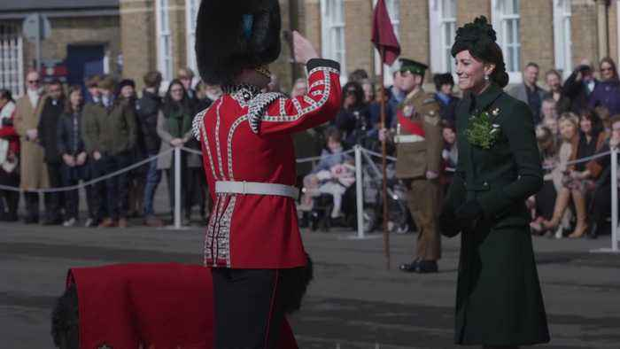 William and Kate honour New Zealand terror victims at St Patrick's Day parade