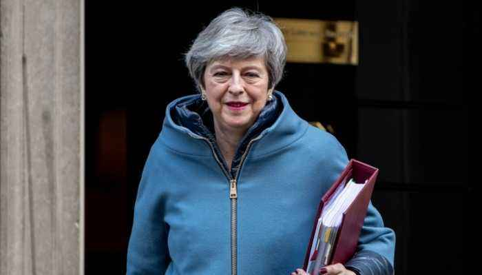 UK PM Theresa May Implores Parliament to Pass Brexit Deal