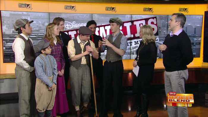 """A Preview of """"Newsies"""" at Marquette University High School"""