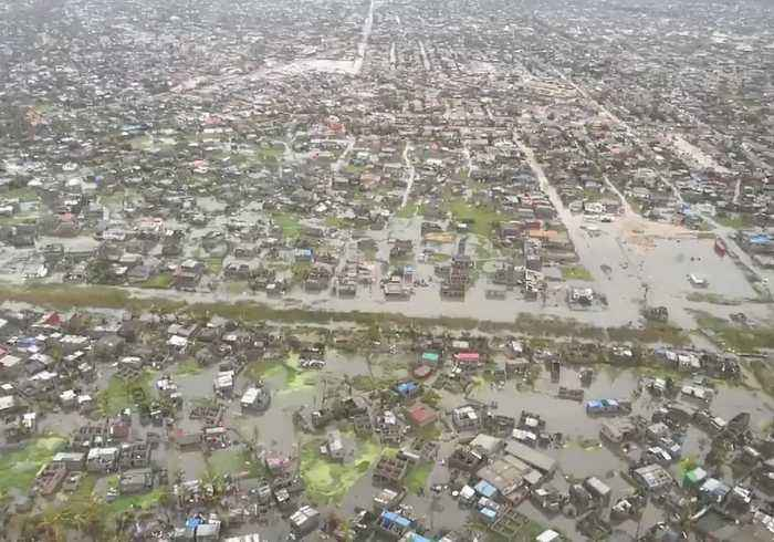 Aerial Footage Shows Devastation in Mozambique Following Cyclone Idai