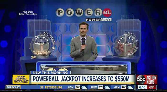Powerball lottery drawing for March 16, 2019: No winning tickets sold; jackpot now $550 million