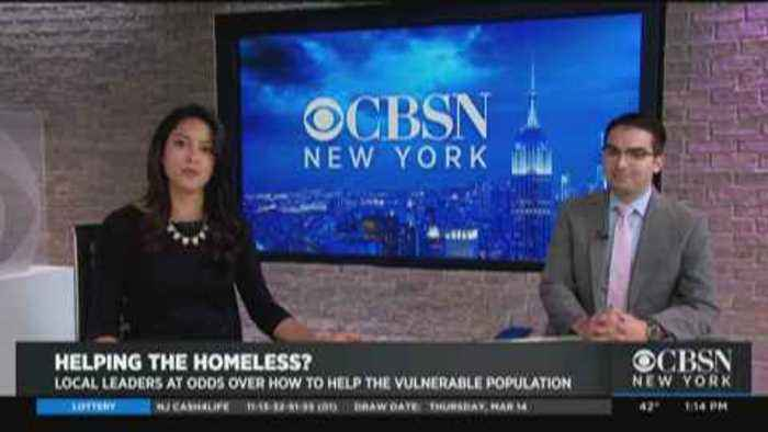 Protest Against NYC's New Homeless Plan