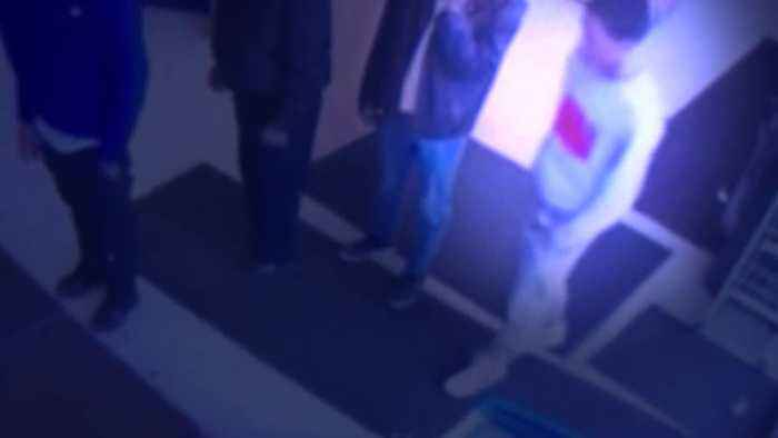 Surveillance video shows man stealing money from 77-year-old man standing in line at Cleveland gas station
