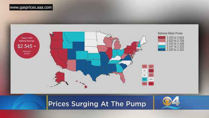 Crude Awakening: Prices Surge At The Pump