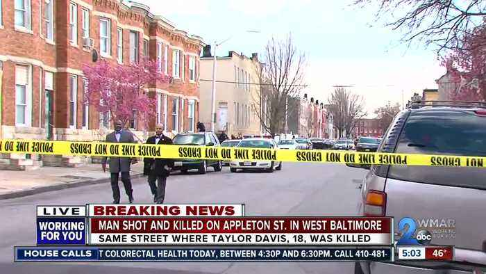 27-year-old man dead after police find him inside a home in West Baltimore