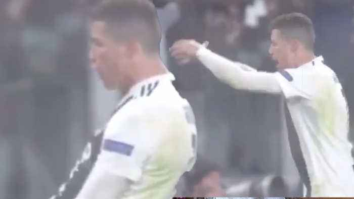 UEFA Might BAN Cristiano Ronaldo From Champions League For Celebrating With Classic 'SUCK IT' Move!