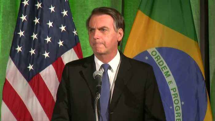 Bolsonaro says 'fake news' plagued his campaign