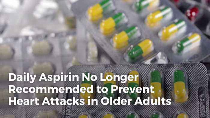 If You're Over 70 Maybe You Should Stop The Daily Aspirin
