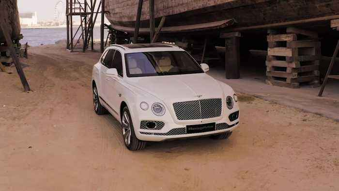 Bentley Bentayga Preview in Pearl of the Gulf