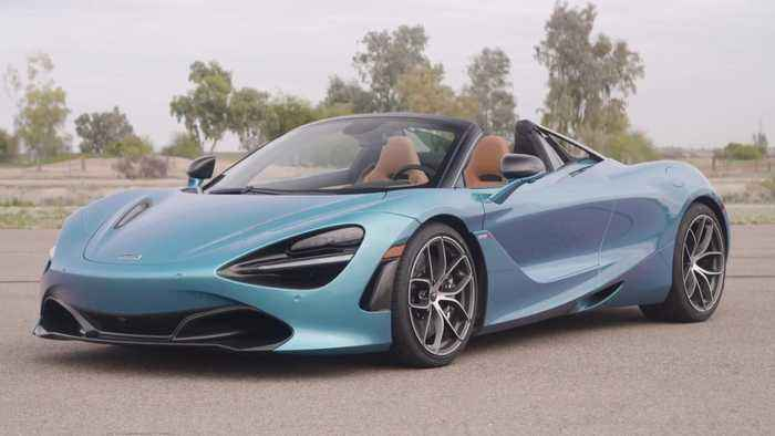 McLaren 720S Spider Design in Belize Blue