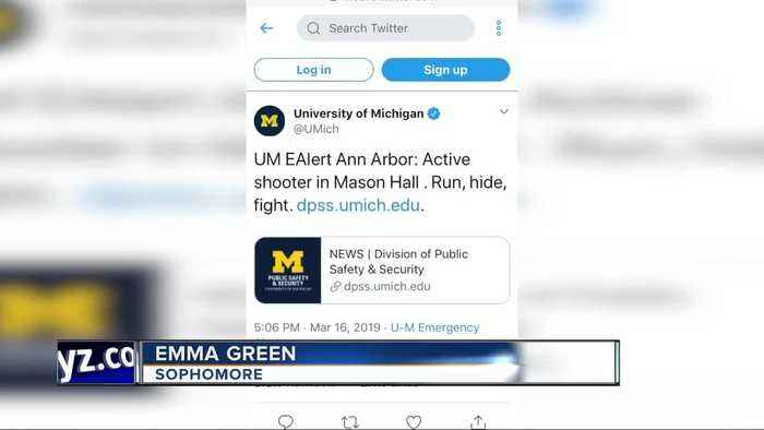 Popping balloons caused report of active shooter at U-M, police say