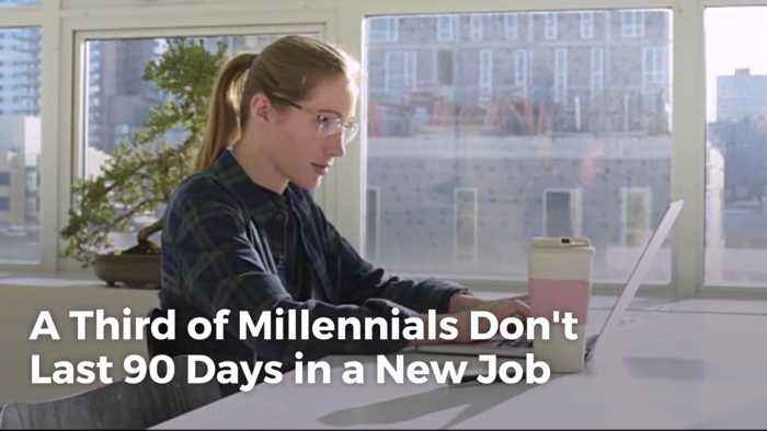 Millennials Are Having A Hard Time With Job Retention