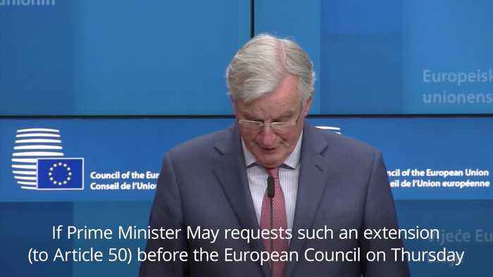 Barnier: EU will assess 'usefulness' of delaying Brexit
