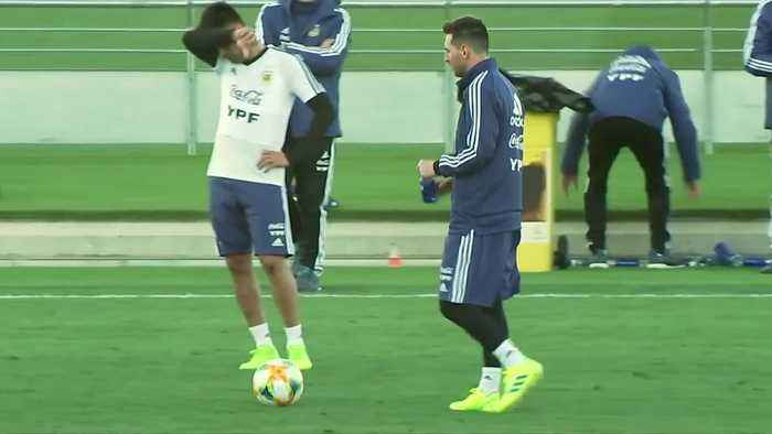 Argentina gear up ahead of Venezuela friendly