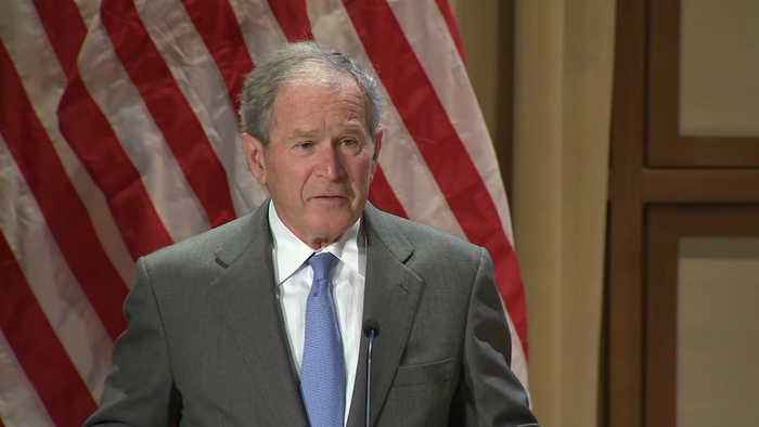 President George W. Bush Celebrates the Strength of Immigration in America