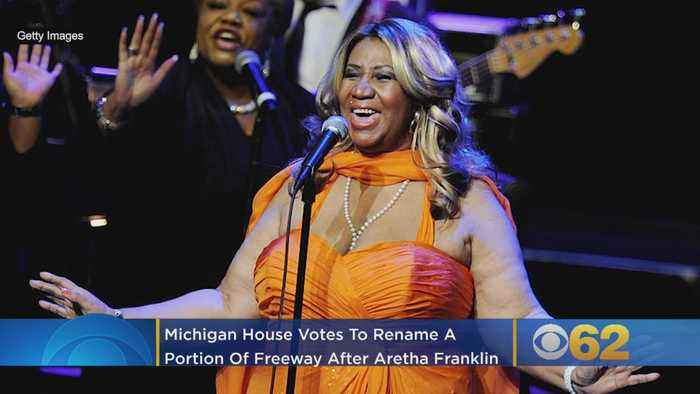 Michigan House Votes To Rename Portion Of Freeway After Aretha Franklin