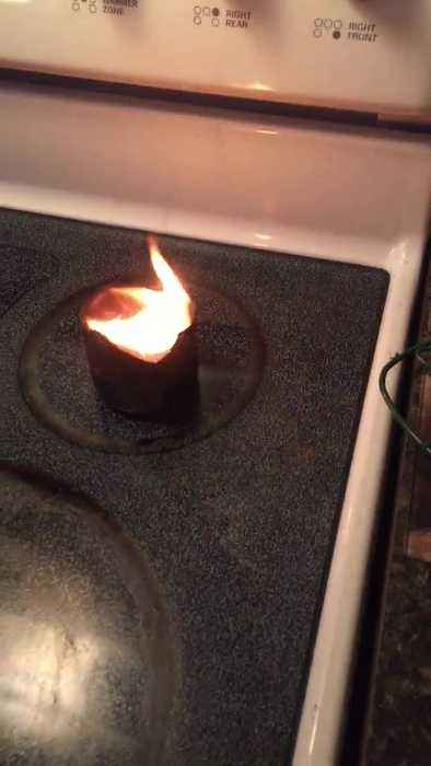 Why You Shouldn't Put Water on a Wax Fire