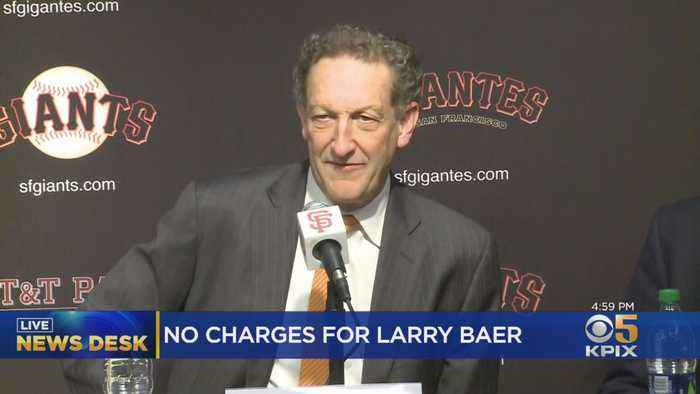 DA Won't Charge SF Giants CEO Baer For Altercation With Wife