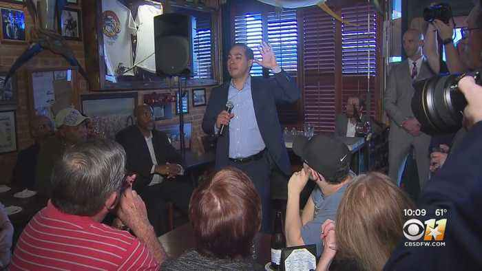 Julian Castro Campaigns In Dallas: 'I'm Convinced We Need New Leadership With A New Vision'