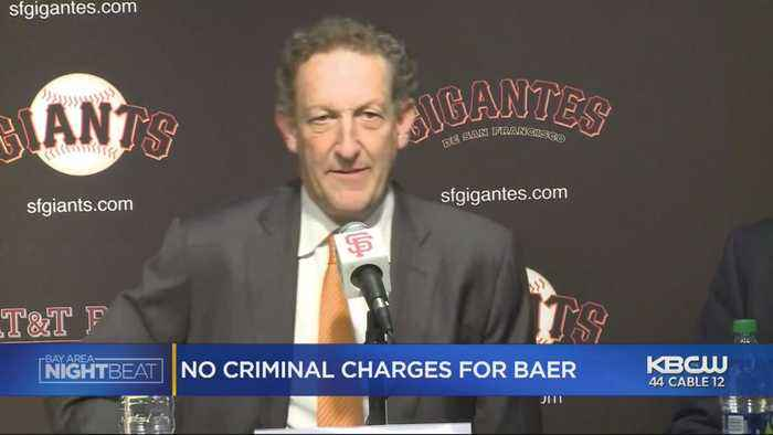No Charges Against San Francisco Giants CEO Larry Baer For Altercation With Wife