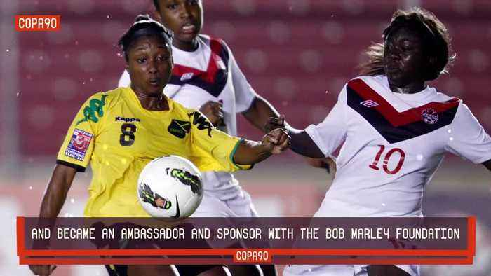 How Bob Marley's daughter saved the Reggae Girlz from extinction, leading them to qualification for their first ever World Cup..