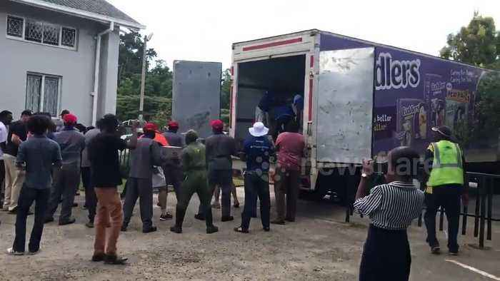 Donations arrive in Harare to help victims of deadly Cyclone Idai