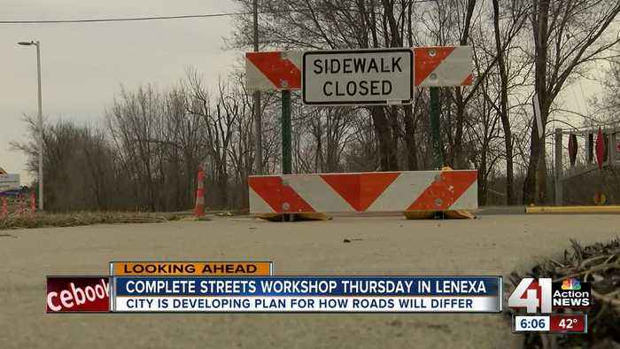 Help Lenexa plan for the future during complete streets open house Thursday