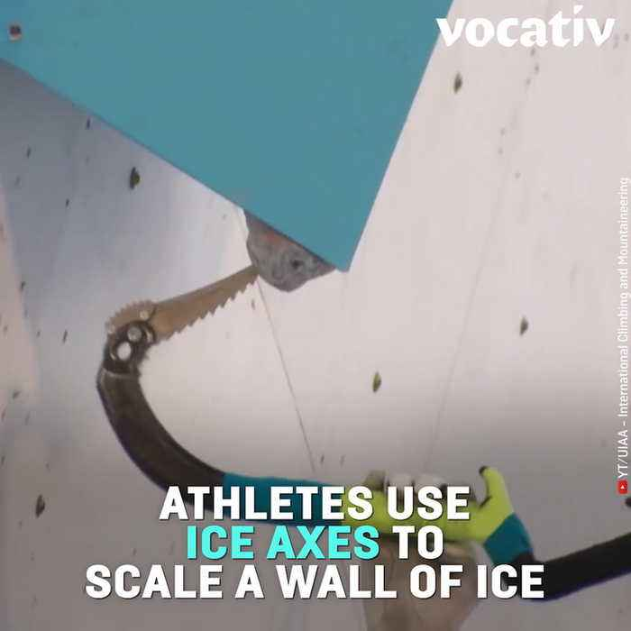 The 2019 Ice Climbing World Cup Looks Like a Crazy Mix Between Rock And Ice Climbing