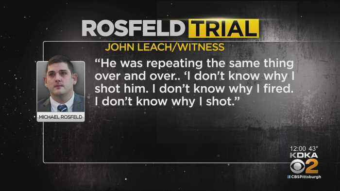 Testimony Continues On Day 2 Of Rosfeld Trial