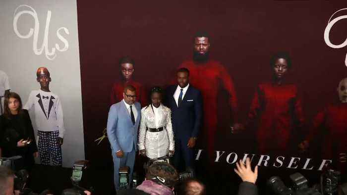 Jordan Peele, Lupita Nyong'o and the cast of 'Us' hit the red carpet in New York