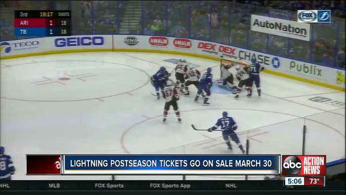 When and where to buy Lightning first round playoff tickets