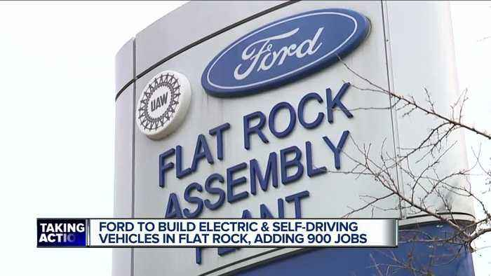 Ford to expand production at Flat Rock Assembly plant, will add 900 jobs in Michigan