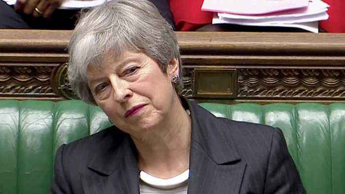 May calls on MPs once again to back her Brexit deal