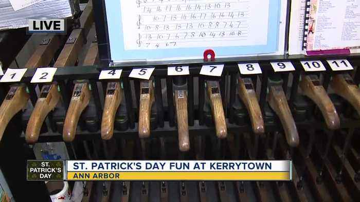 St. Patrick's Day fun at Kerrytown market and shops