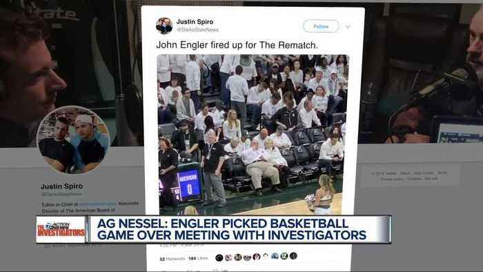 Nessel: Engler didn't have time for investigators, but made time for basketball