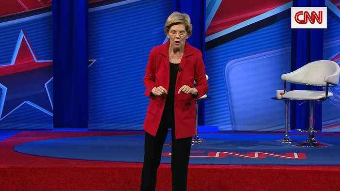 Elizabeth Warren Calls for Electoral College to Be Abolished in CNN Town Hall