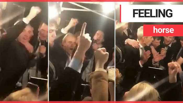 Jockey Ruby Walsh drowns Cheltenham sorrows with karaoke session in the pub