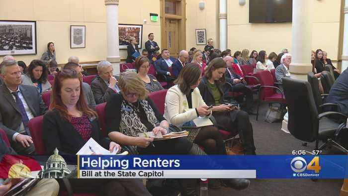 Bill Designed To Help Renters Amid Highest Eviction Rates In U.S.
