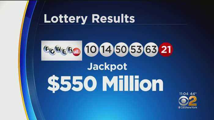Powerball Jackpot Numbers Revealed