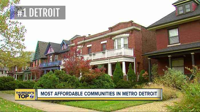 Thursday's Top 7: Most-affordable cities for homebuyers in metro Detroit