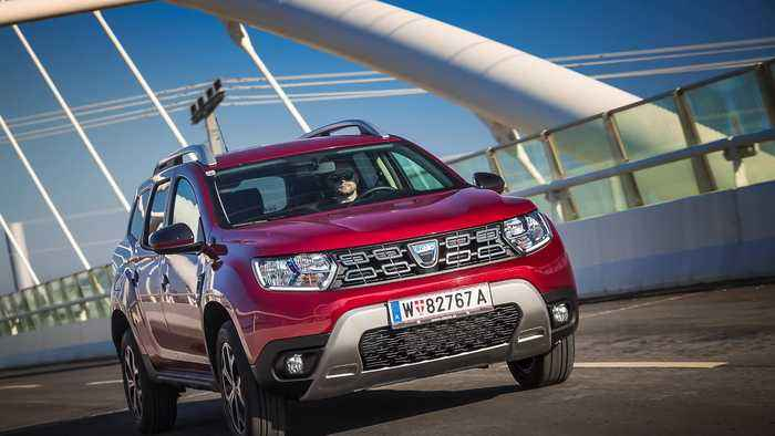 The Dacia Duster - the most economical compact SUV new release of the year 2018