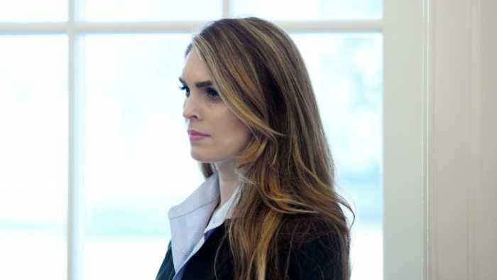 Hope Hicks to Cooperate With House Judiciary Probe