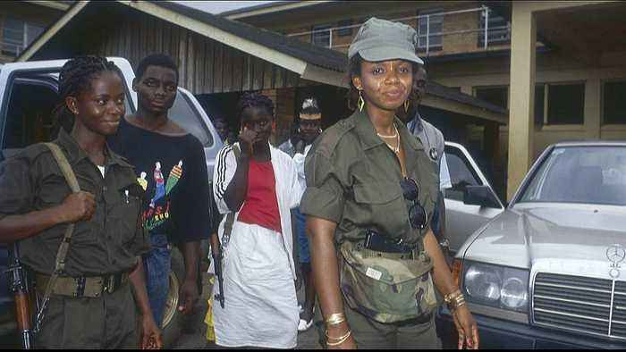 Liberia former first lady in UK court for torture charges