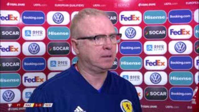 McLeish: Horrible start to campaign