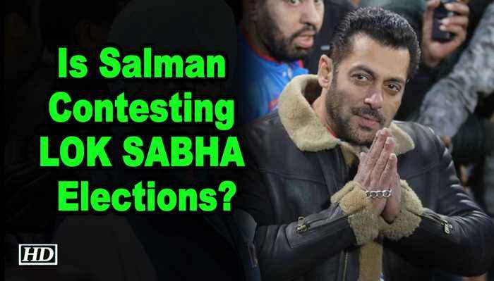 Is Salman Contesting LOK SABHA Elections ! Actor clears the air